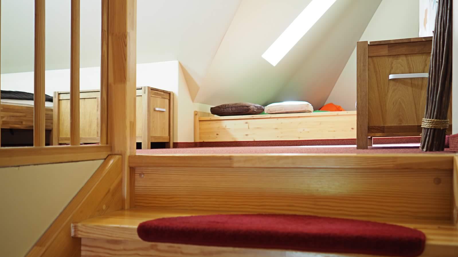 Wohn-/Svhlafraum mit 2 Einzelbetten